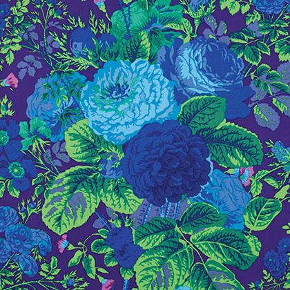 Kaffe Fassett - Gradi Floral - Purple