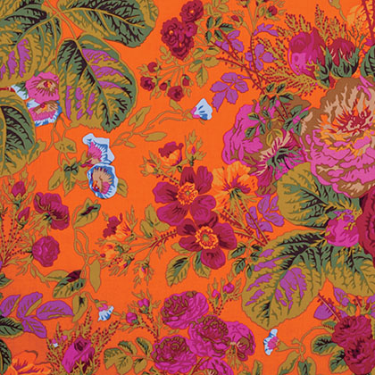Kaffe Fassett Collective By Philip Jacobs - Gradi Floral - PWPJ053.TOMAT