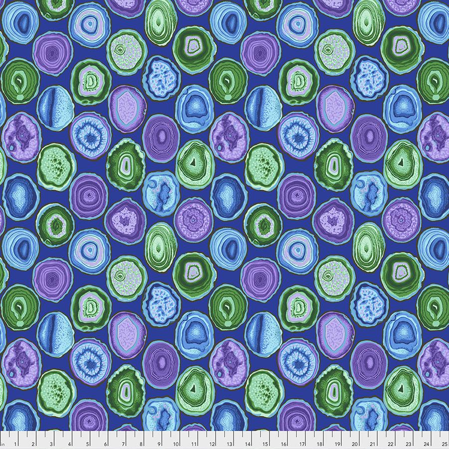 Geodes jewel tones