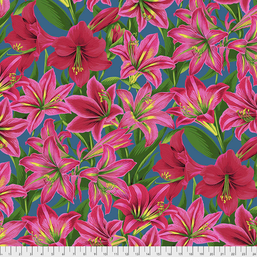 Kaffe Fassett Collective August 2020 Amaryllis - Red PWPJ104.RED