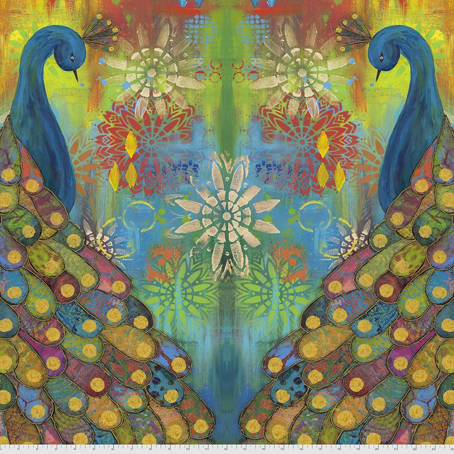 PWSP019.MULTI Pizzazz Panel Sue Penn FreeSpirit Fabrics