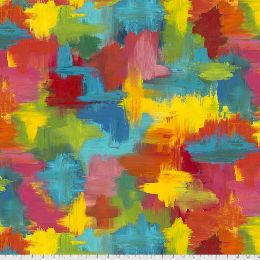 PWSP024.MULTI Garden Patch Pizzazz Sue Penn FreeSpirit Fabrics