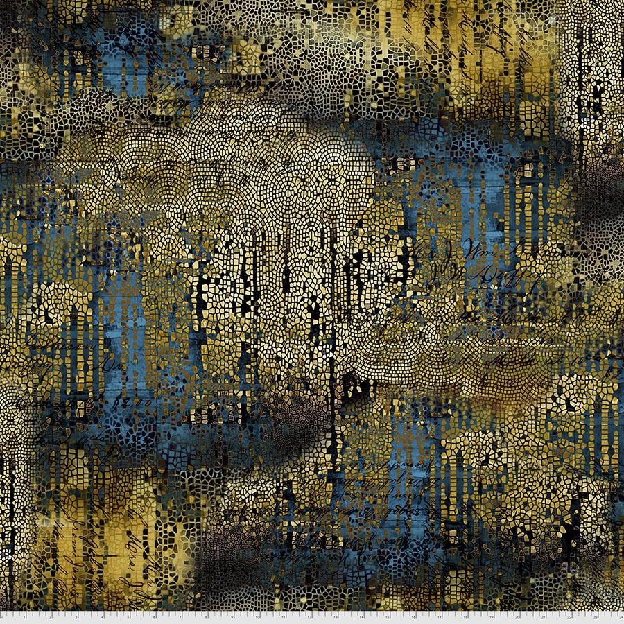 Abandoned 2 Gilded Mosaic - Gold