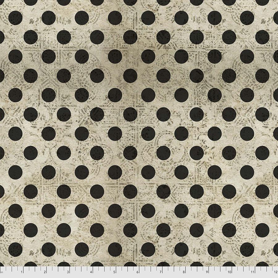 PWTH153.NEUTRAL Hocus Pocus Regions Beyond Tim Holtz FreeSpirit Fabrics