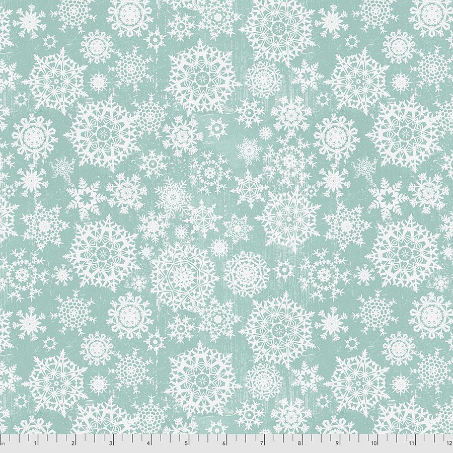 Christmastime Snowfall - Mint