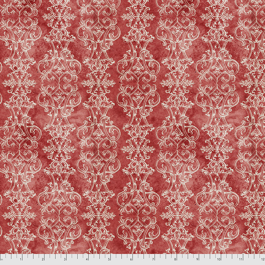 Christmastime Fanciful - Red PWTH165.RED