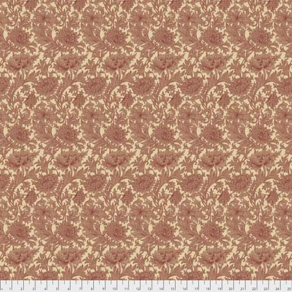 108 Wide Backing- Chrysanthemum Toile - Red