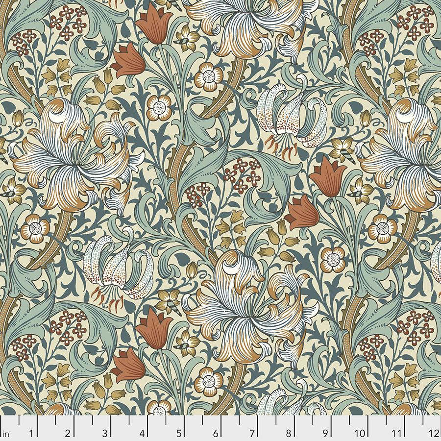 Morris & Co. Standen - Golden Lily - PWWM028.AUTUMN