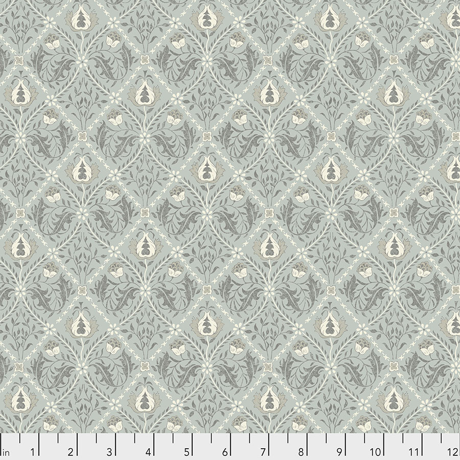 Free Spirit Pure Trellis - Mint by Morris & Co