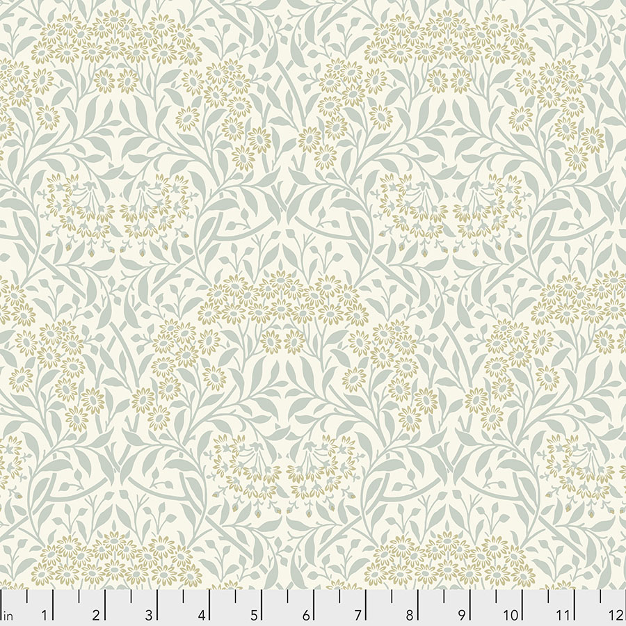 Free Spirit By Morris & Co Michaelmas Daisy - Ivory