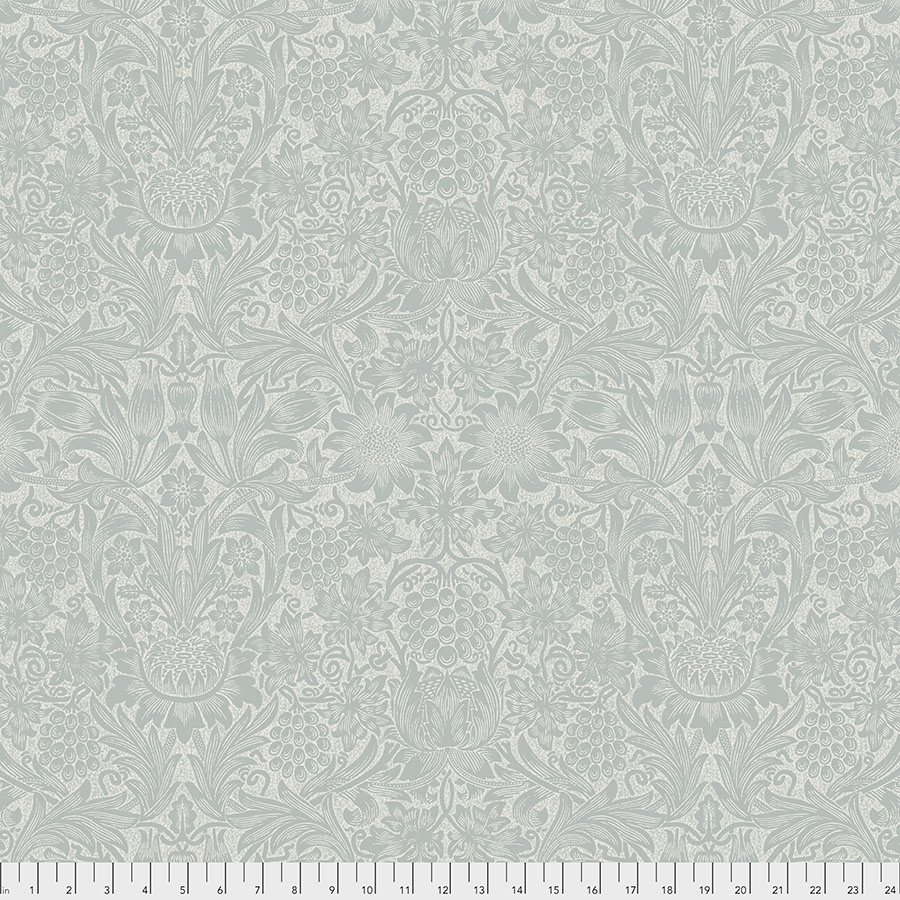Free Spirit Pure Sunflower - Mint by Morris & Co