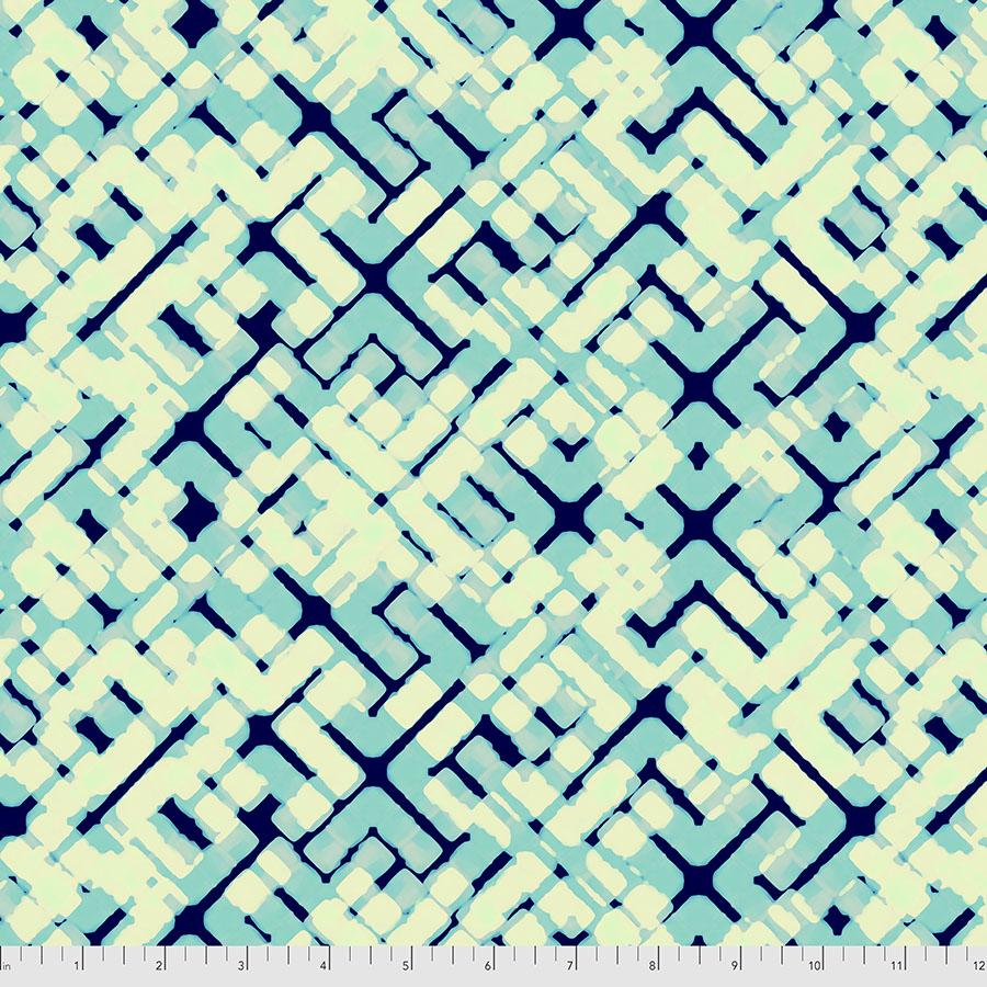 PWWR005.BLUE Traffic | Madison One Collection | William Reue for FreeSpirit Fabrics