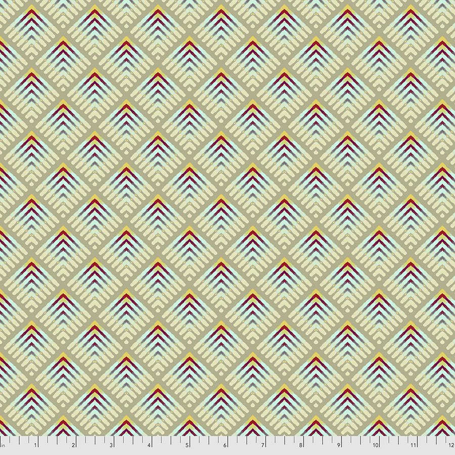 PWWR009.LIGHT Rectrix Small | Madison One Collection | William Reue for FreeSpirit Fabrics