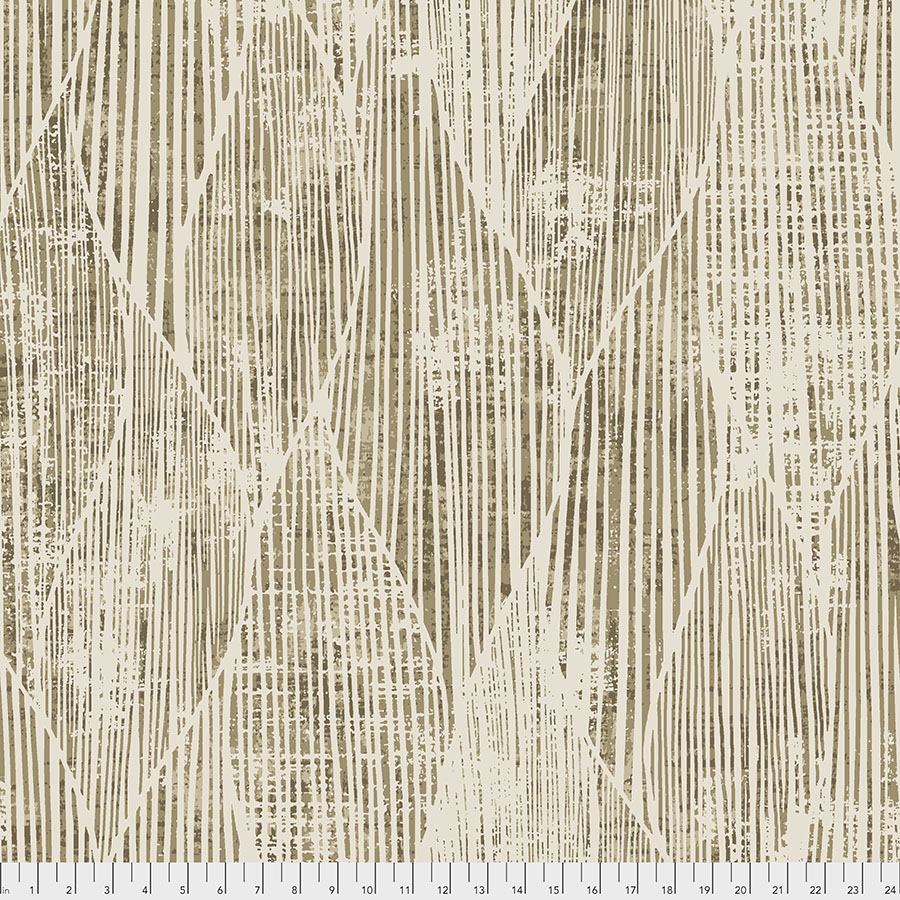 Backing Fabric - Frequency - Natural
