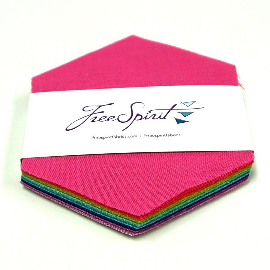 Designer Essentials-Tula Pink Solids- Hexagon