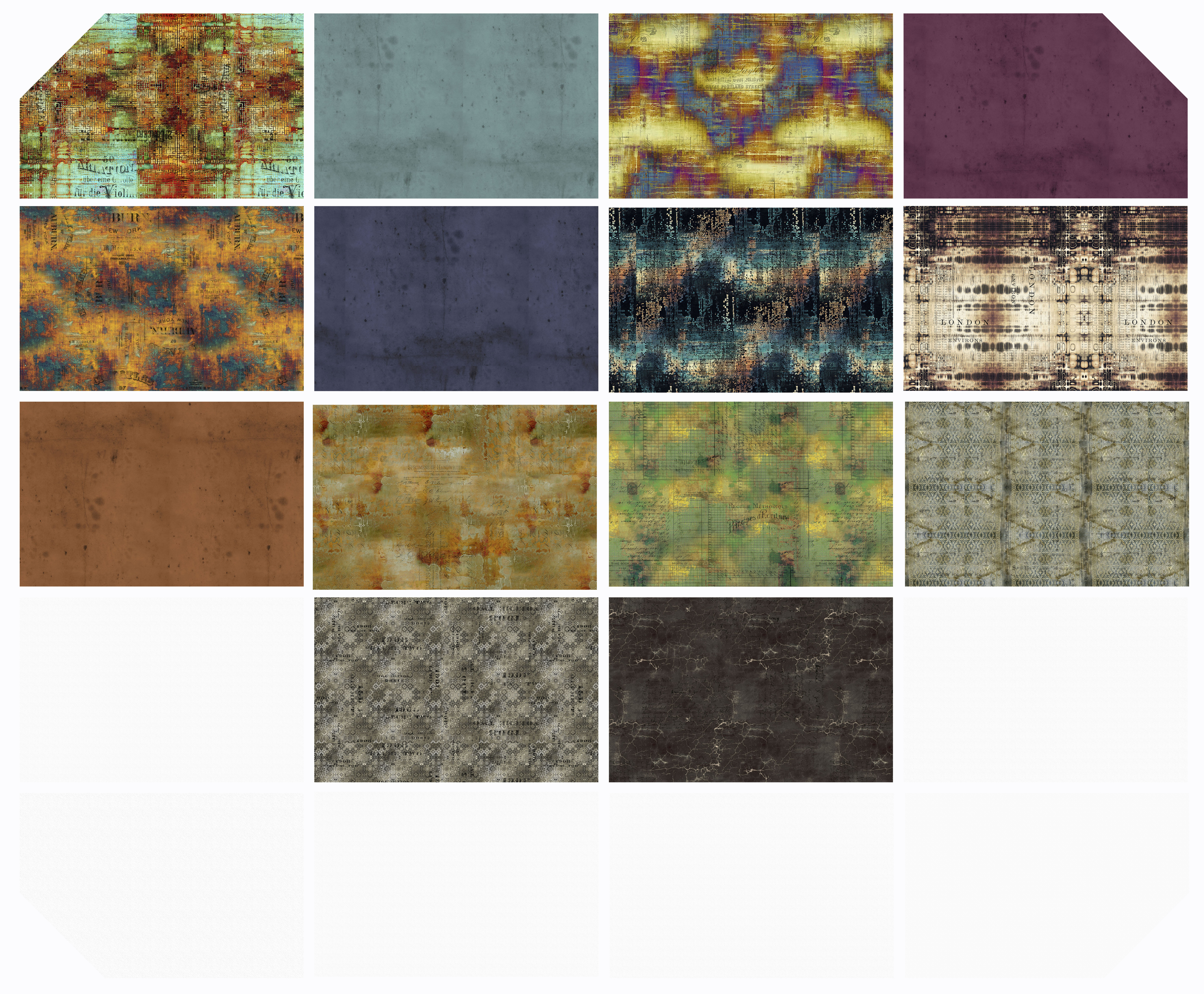 Abandoned - Fat Quarter Bundle