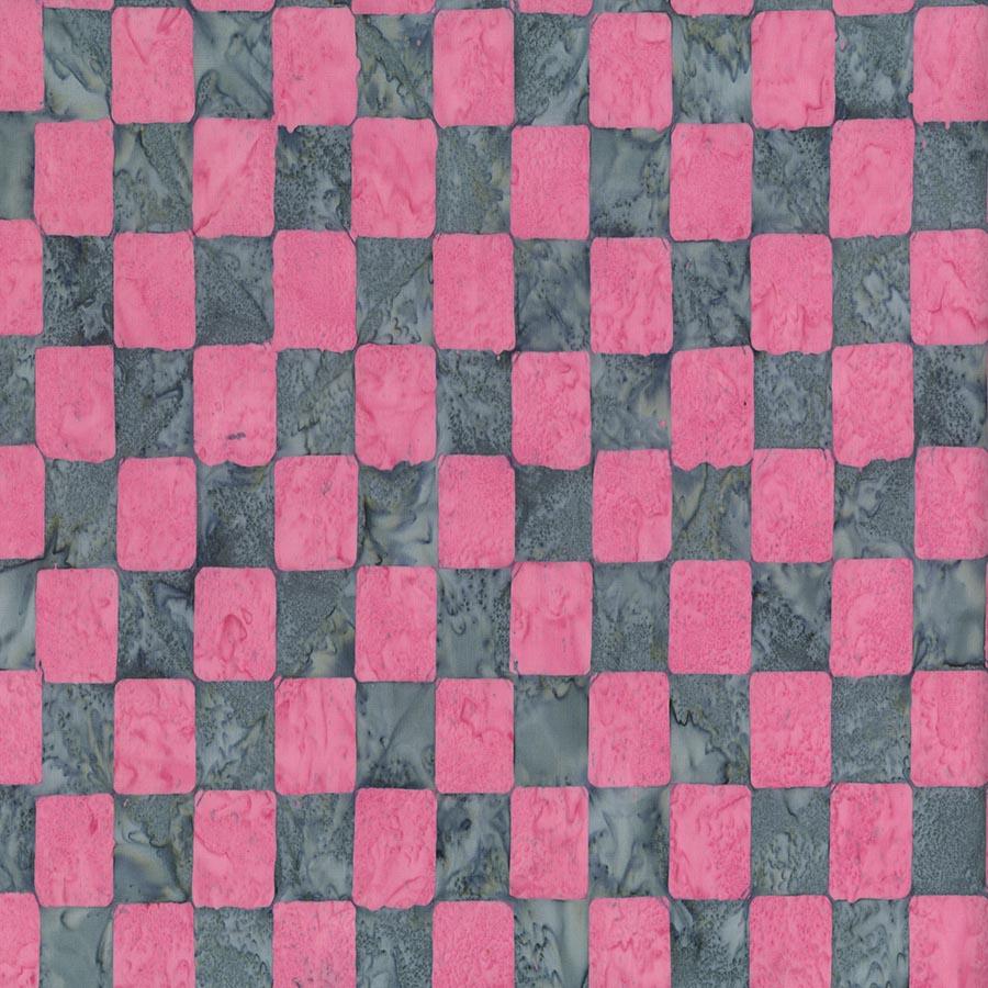 Kaffe Artisan Batik - Chess - Pink