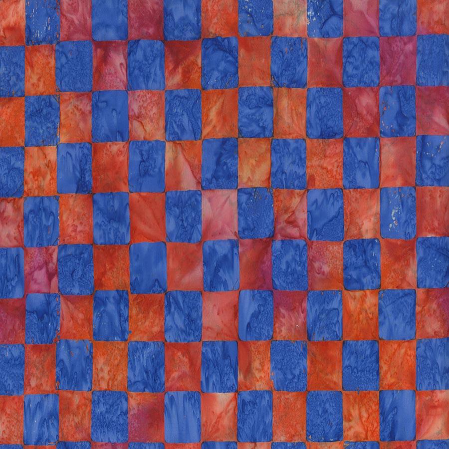 Kaffe Artisan Batik - Chess - Red