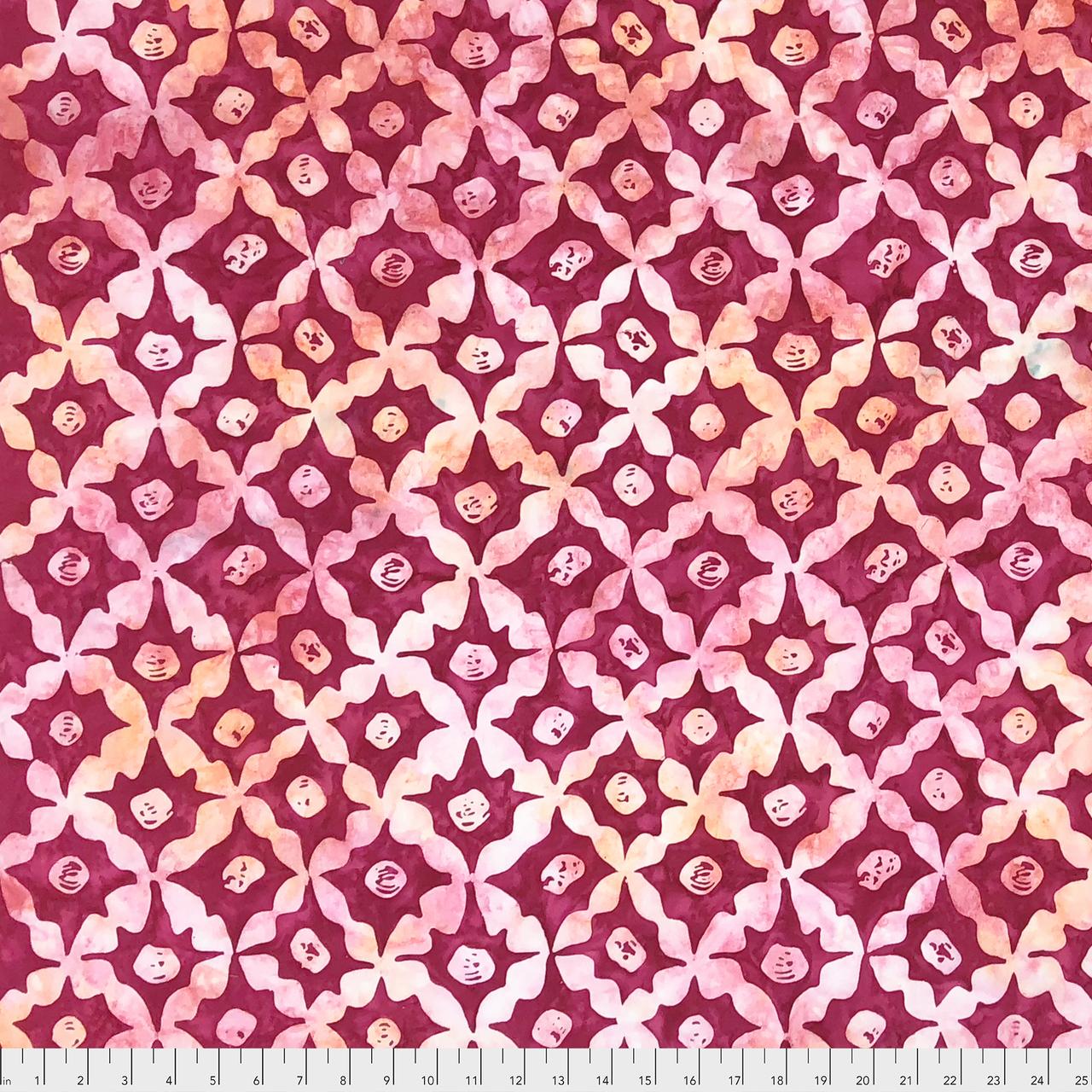 Kaffe Fassett Artisan Batik: Stars - Pink