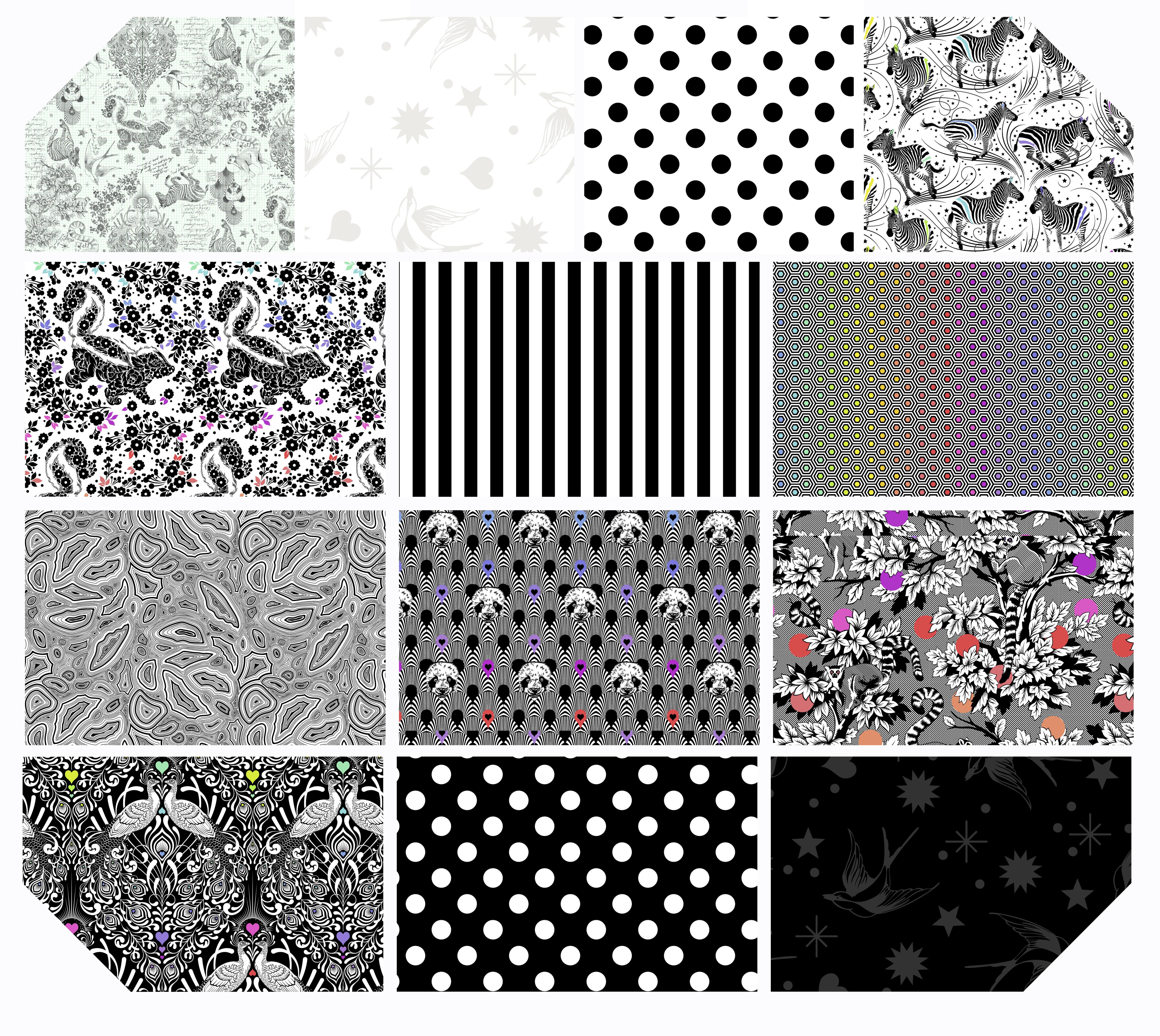 Free Spirit Tula Pink Linework 2.5 Design Roll