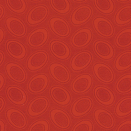 Aboriginal Dot - Red