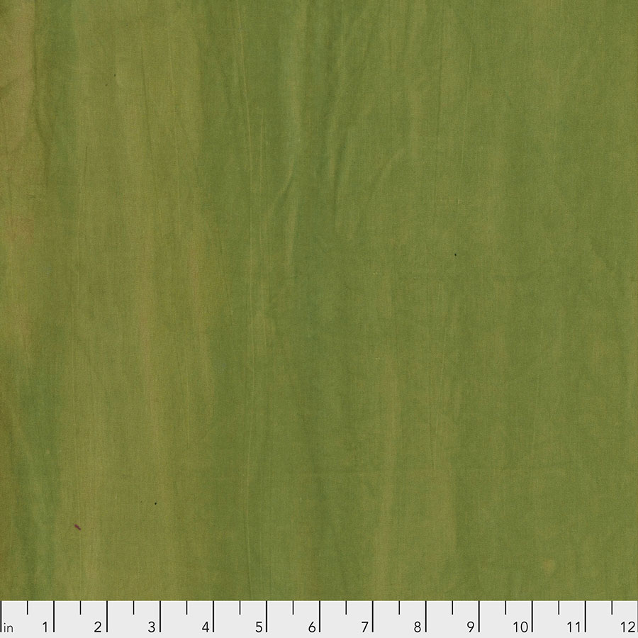 Free Spirit Jane Sassaman Handcrafted Cottons - Wasabi HCJS001.WASABI