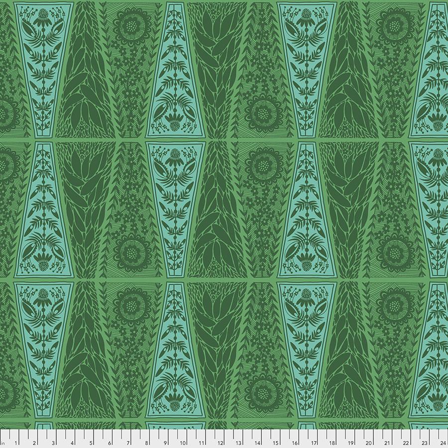 Triple Take New Dresden Lace - Grass
