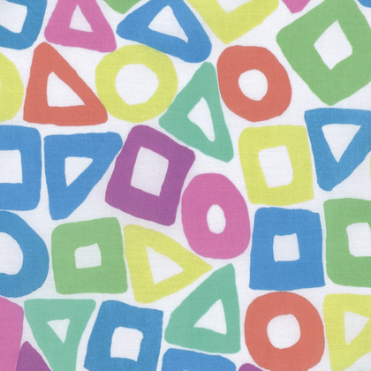 White Puzzle by Brandon Mably of the Kaffe Fassett Collective for FreeSpirit Fabrics