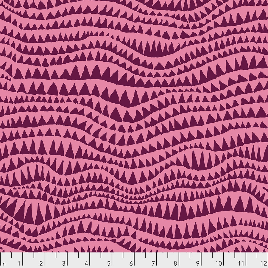 Kaffe Fassett | Shark's Teeth - Rose