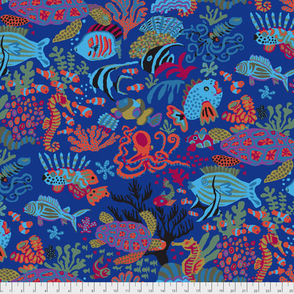 Kaffe Collective Spring 2018 Scuba in Blue