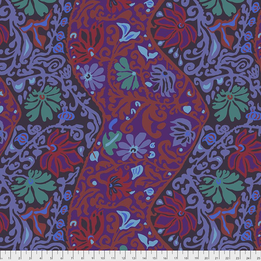 Kaffe Spring 2019 PWBM069 Purple - Bali Brocade