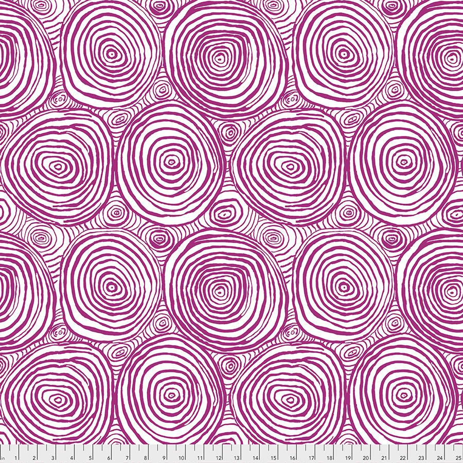 Kaffe Spring 2019 PWBM070 Purple - Onion Rings