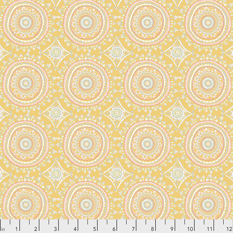 Ganesha Garden-Mandala - Yellow