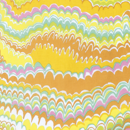 End Papers Yellow - Kaffe Fall 2016