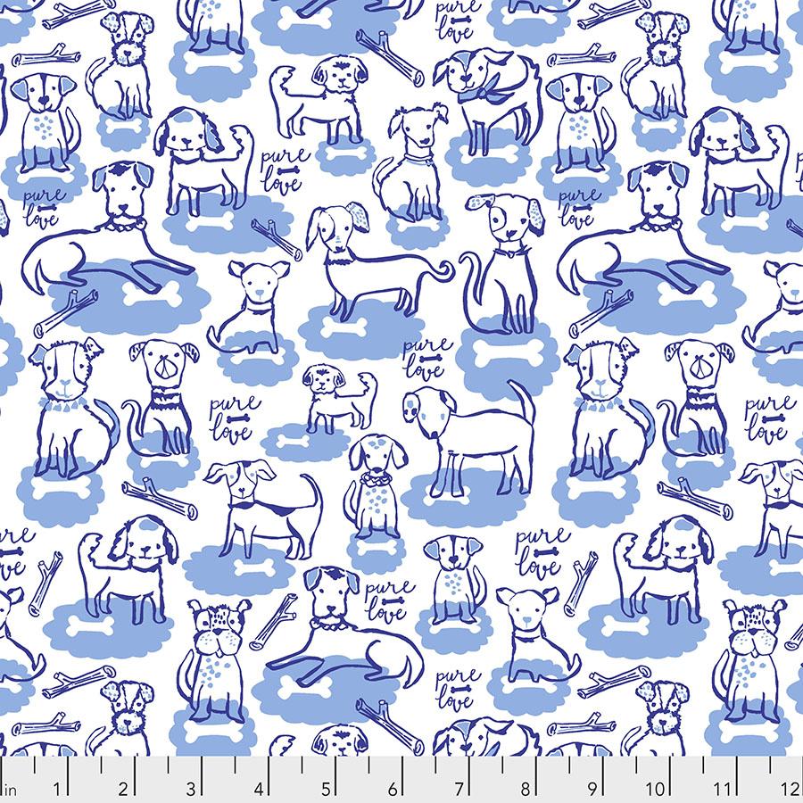 Bone Clouds - Blue