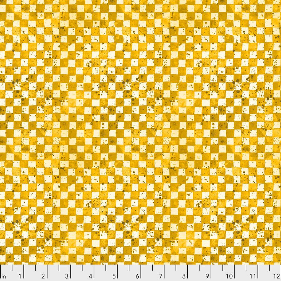 Checkerboard - Yellow