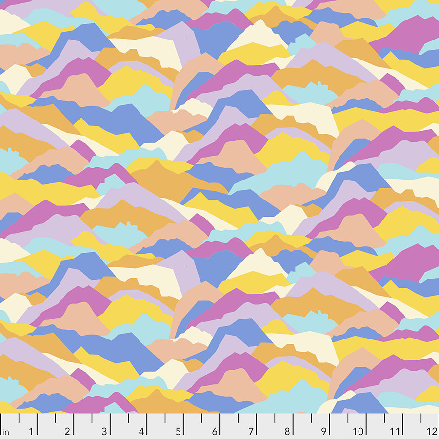 Calico Horses Calico Mountains - Multi PWLT009.MULTI