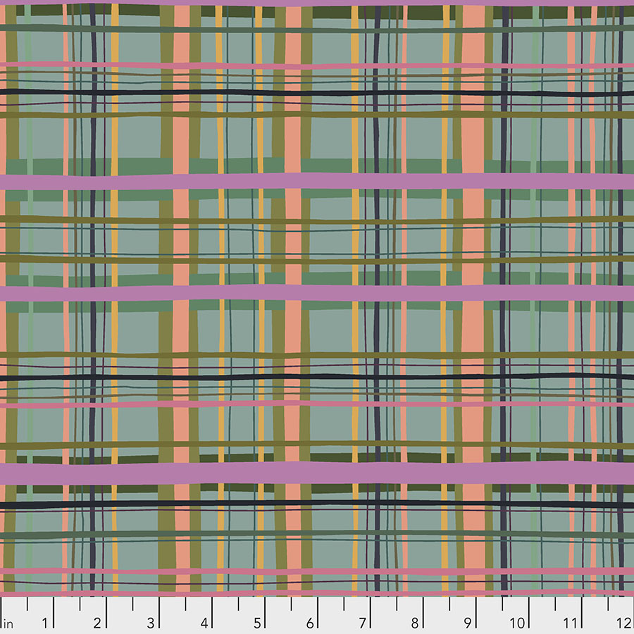 Plaid Tiffany - New Vintage by Kathy Doughty