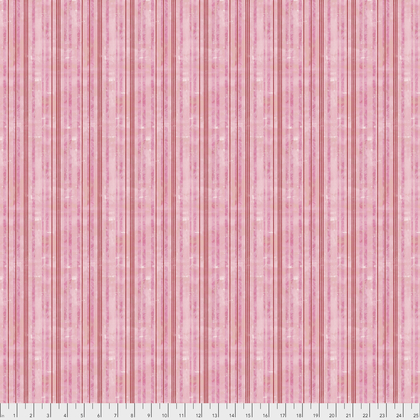 Pink and Red Stripes:  Taffy Pull - Georgia Blue by Natalie Malan for FreeSpirit Fabrics