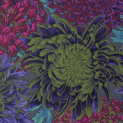 Japanese Chrysanthemum - Antique Kaffe Fassett Collective