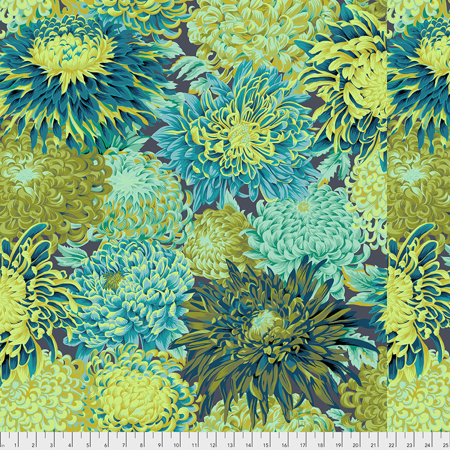Kaffe Fassett Collective-Chrysanthemum-Forest