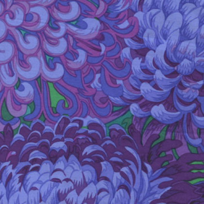 Japanese Chrysanthemum - Purple