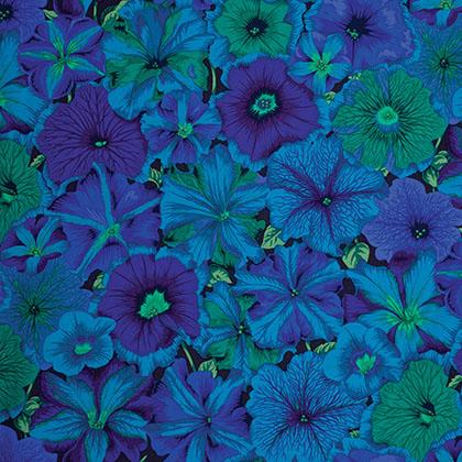 Petunias - Blue