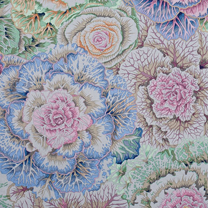 Brassica - Gray Kaffe Fassett Collective