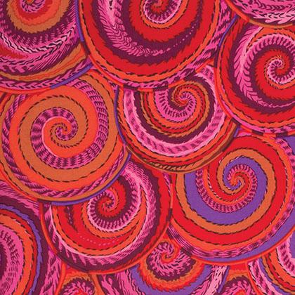 Kaffe Fassett Curly Baskets - Red