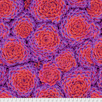 Succulent - Red by Philip Jacobs for Kaffe Fassett Collective