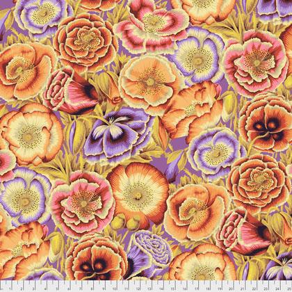 PWPJ095.ORANG Poppy Garden - Orange