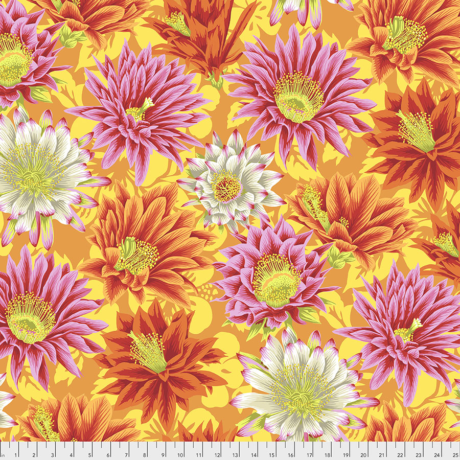 Kaffe Fassett Collective Spring 2019 - Cactus Flower - Yellow