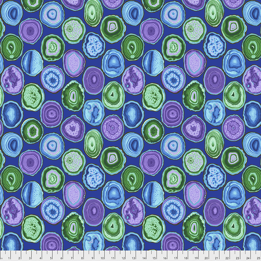 Geodes - Blue PWPJ099.BLUE