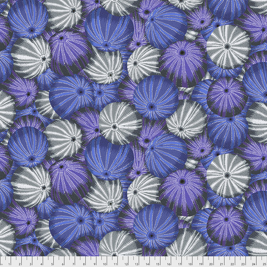 Kaffe Fassett Sea Urchins - Grey